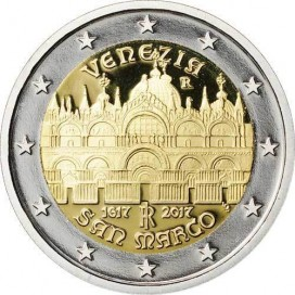 2 Euro Italie 2017 Basilique San Marco Venise