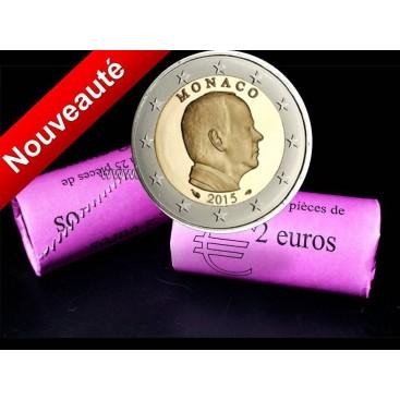 Rouleau 2 Euros Albert Monaco 2015