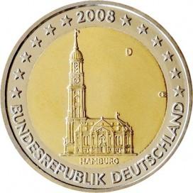 SET 5*2 Euro Allemagne 2008