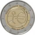 SET 5*2 Euro EMU Allemagne 2009