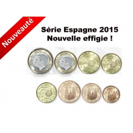 Série Espagne 2015 Felipe VI