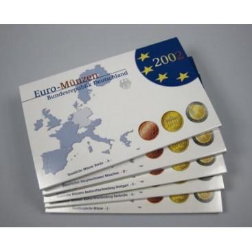 Coffret Euro Belle Épreuve BE Allemagne 2002