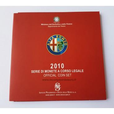 BU Italie 10 Pièces 2010 Alpha Roméo