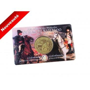 Coincard 2,50 Euro Belgique 2015