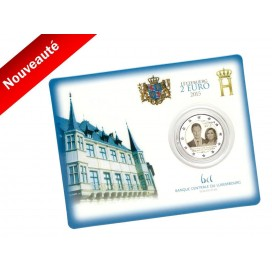 Coincard 2 euro Luxembourg 2015