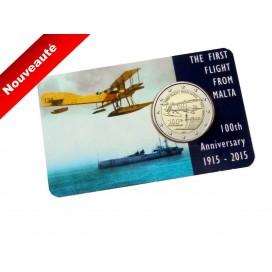 Coincard 2 euro Malte 2015