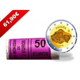 25x2 euro commemorative Espagne 2015
