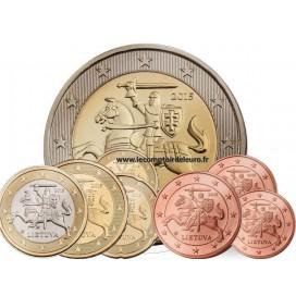 Série Euro Lituanie 2015 - 3,88 Euro