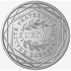 15 Euro argent semeuse 2008
