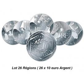 série Eurodes 26 régions