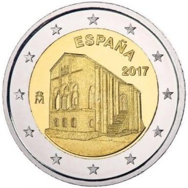 2 Euro Espagne 2017 Eglise Santa Maria