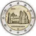 2€ ALLEMAGNE 2014 Église Saint Michel de Hildelsheim
