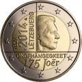 2 euro commémorative Luxembourg 2014