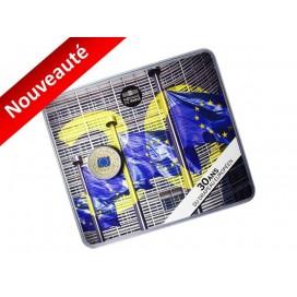 2 Euro Coincard France 2015 Drapeau