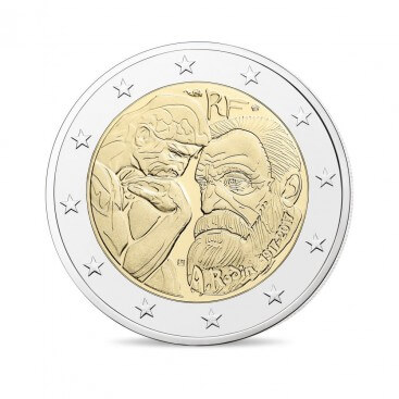 2 Euro France 2017 Auguste Rodin
