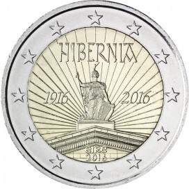 2 Euro Irlande 2016 Proclamation Republique