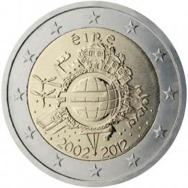 "2 Euro ""10 ans de l'euro "" Irlande 2012"