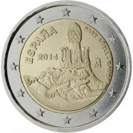 2 euro ESPAGNE 2014 Antonio Gaudi