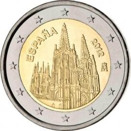 2 Euro Espagne 2012 Cathedrale de Burgos