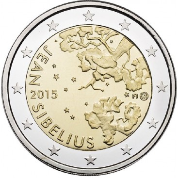 2 euro commemorative Finlande 2015