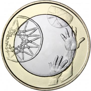 5 Euro Finlande 2015 Basket