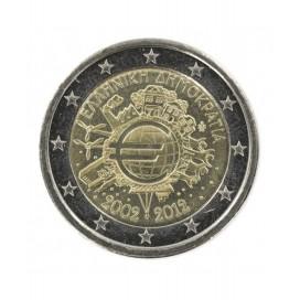 2 Euro Grèce 2012-10 ans de l'euro