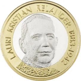 5 Euro Finlande 2016 Relander