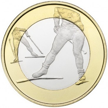 5 euro Finlande 2016 ski de fond