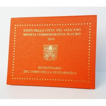 2 euro vatican 2016