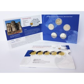 5 x 2 euro Allemagne 2017 BE
