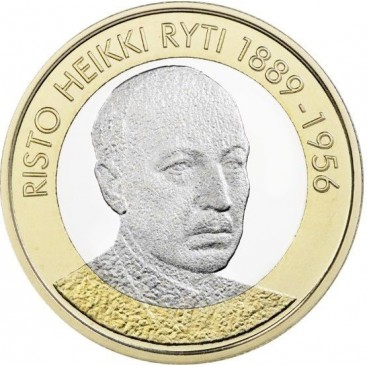 5 Euro Finlande 2017 Risto Keikki Ryti
