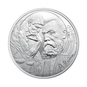 10 Euro Argent Rodin 2017