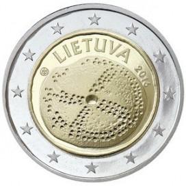 2 euro Lituanie 2016