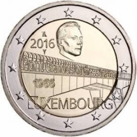 2 Euro Luxembourg 2016 Pont Grande Duchesse