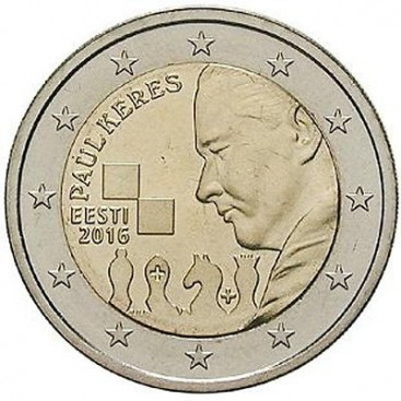 2 Euro Estonie Paul keres 2016