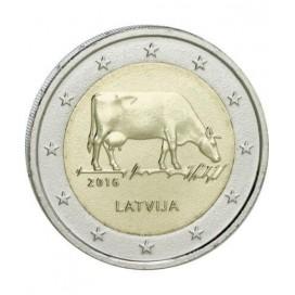 2 Euro Lettonie 2016 Industrie Laitière