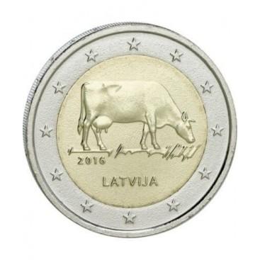 2 Euro Lettonie 2016