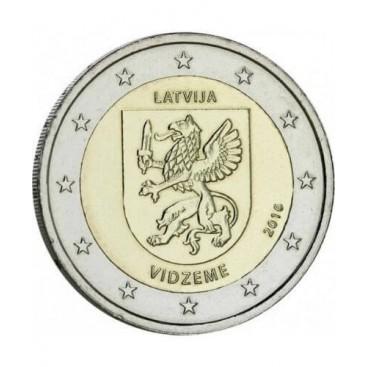 2 Euro Lettonie 2016 Vidzeme