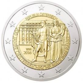2 Euro Autriche 2016