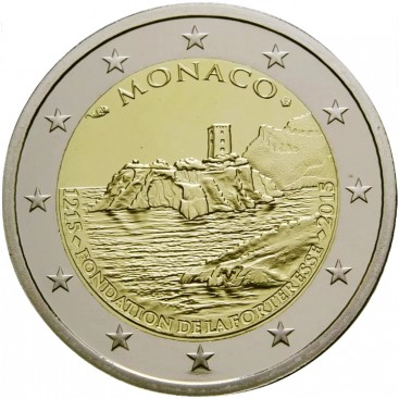 2 Euro Monaco 2015-800 ans du Chateau