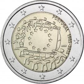 2 Euro Portugal 2015 Drapeau