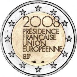 2 Euro France 2008 Presidence de l'UE
