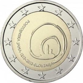 2 Euro SLOVENIE 2013 Grotte de Postojna