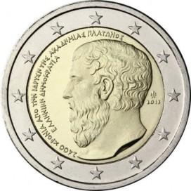 2 Euro Grèce 2013 Platon