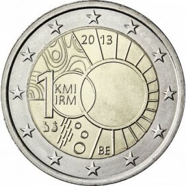 2 Euro Belgique 2013 Institut Meteorologique