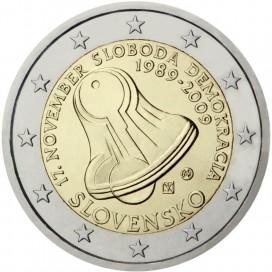 2 Euro Slovaquie 2009 Journée de la liberté