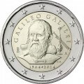 2 euro commemorative Italie 2014-Galilée