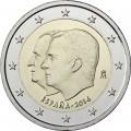 2 euro commemorative Espagne 2014 n°2