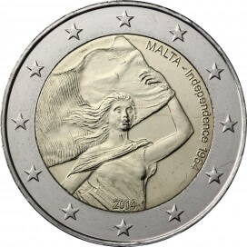 2 euro commemorative MALTE 2014 Independance