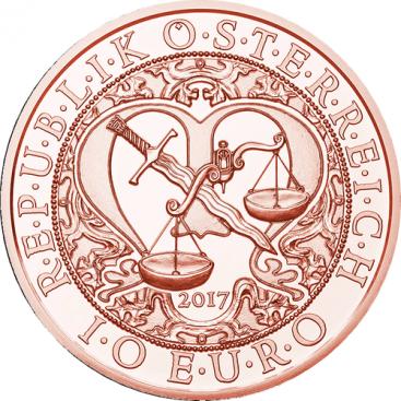 10 Euro Autriche 2017